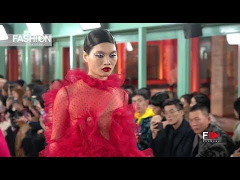 VALENTINO Haute Couture 2019 Beijing - Fashion Channel