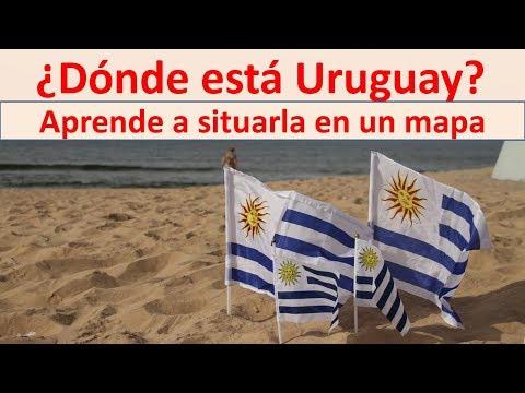 donde queda Uruguay