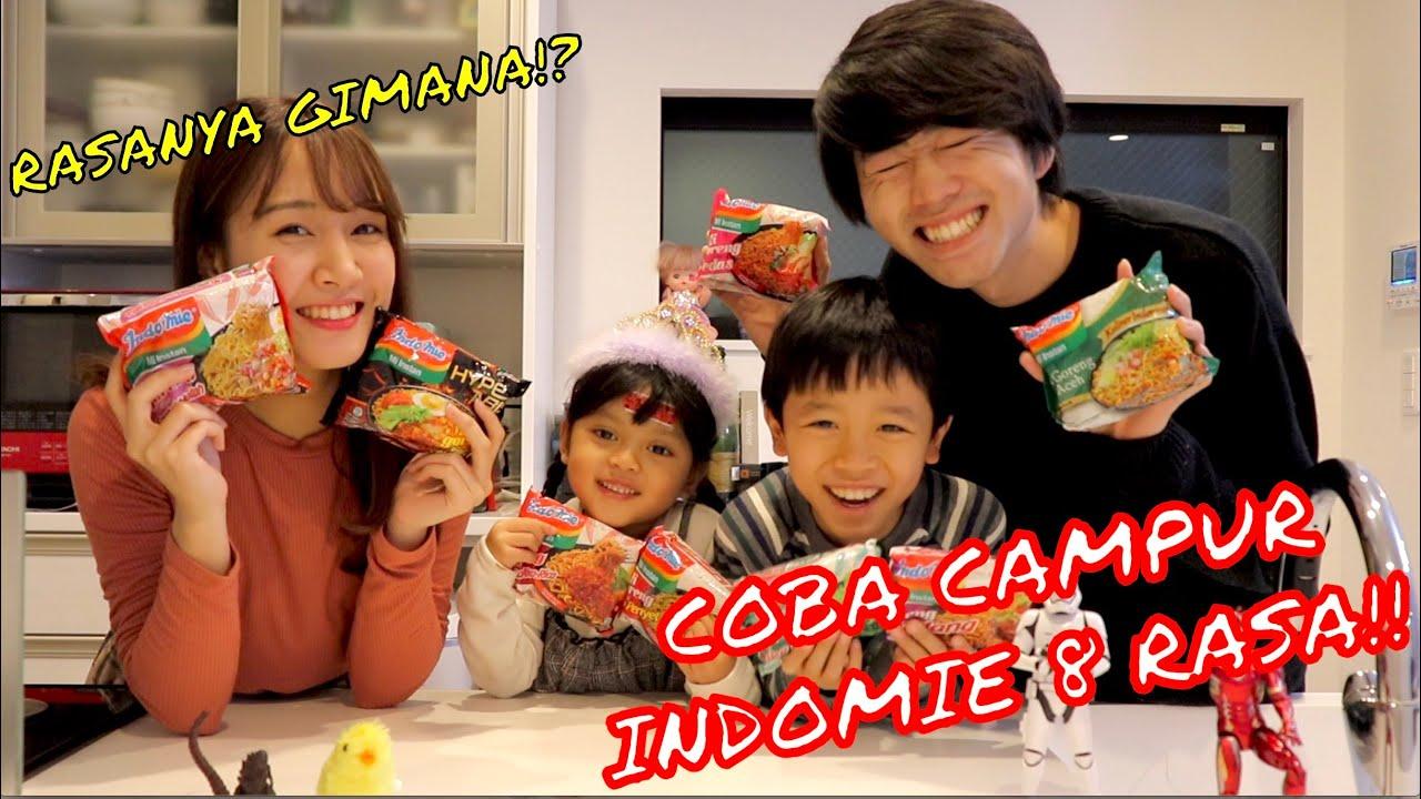 Coba campur indomie 8 rasa sama Erika, dan anak2 Jepang!