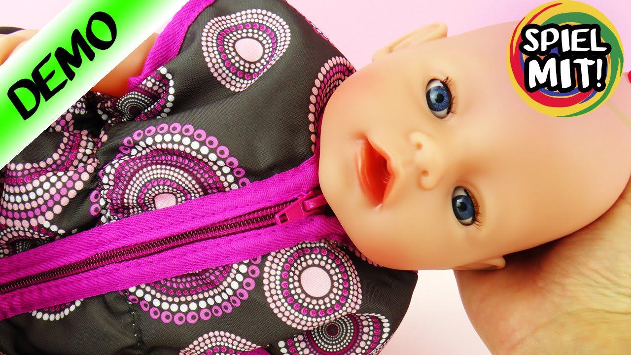 baby born puppen schlafsack mit tollem mandala sonnenmotiv. Black Bedroom Furniture Sets. Home Design Ideas