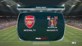 Arsenal FC  0 : 0   Naissus FC