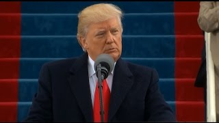 Watch President Donald Trump's Full Inauguration Speech