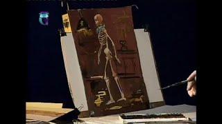 Уроки рисования (№ 115) карандашом и акварелью. Рисуем человека: фигура
