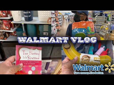 SPEND THE DAY WITH ME| Walmart Clearance| Walmart Shop With Me| Shop With Me Walmart