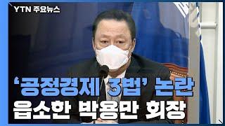 [뉴스라이브] 국회 달려가 읍소한 박용만...'…