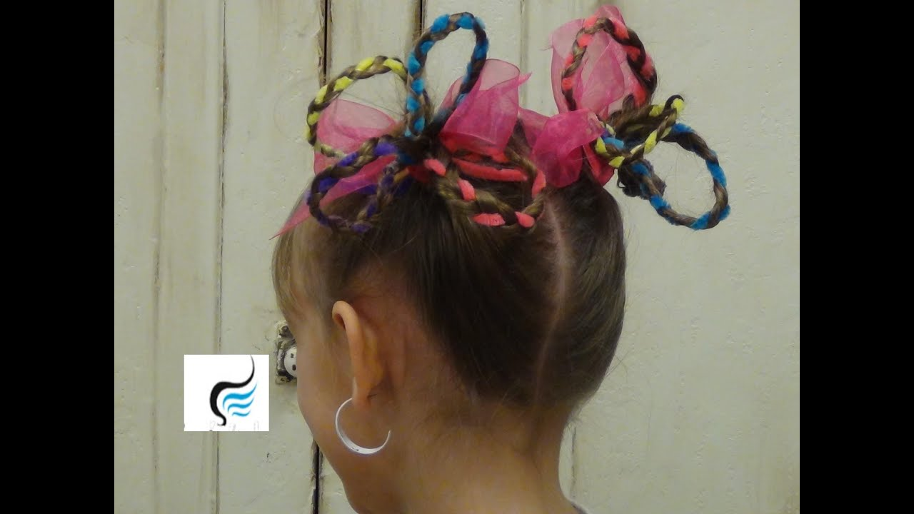 seuss hair/crazy hair pigtails for girls hairstyles - youtube