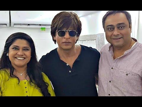 Shahrukh Khan Reunite With Circus Co-Star Renuka Shahane And Sachin Khedekar