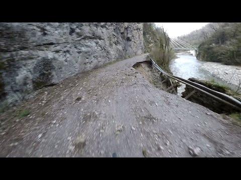 Старая заброшенная дорога Адлер -  Красная Поляна