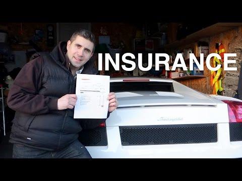 How Much Is Insurance On My Lamborghini Gallardo