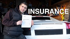 How Much Is Insurance on My Lamborghini Gallardo ?