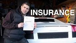 How Much Is Insurance on My Lamborghini Gallardo ?