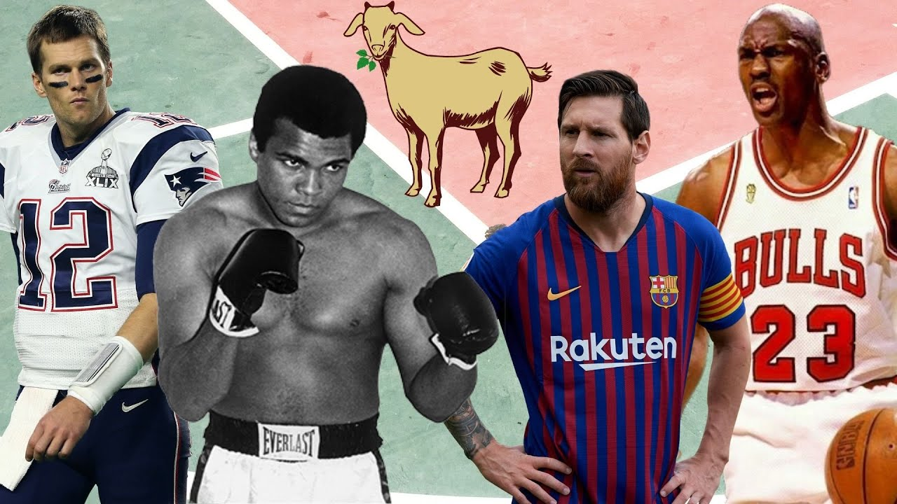 The GOAT From EVERY Major Sport