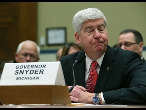 Rick Snyder LIED on Flint Water Crisis: When's He Going to Jail?