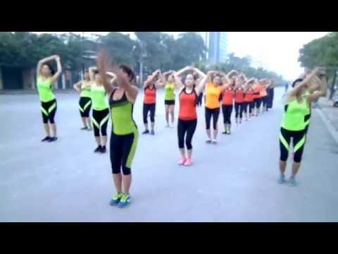 AEROBIC THAI HANG.0928387079.eo+hop mo 2.nhac vang,moi tinh,18p30