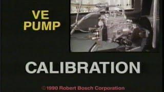 BOSCH VE-Pump Calibration