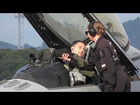 2018築城基地航空祭・F-16機動飛行