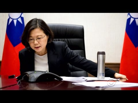 Trump call adds to tense China-Taiwan relationship