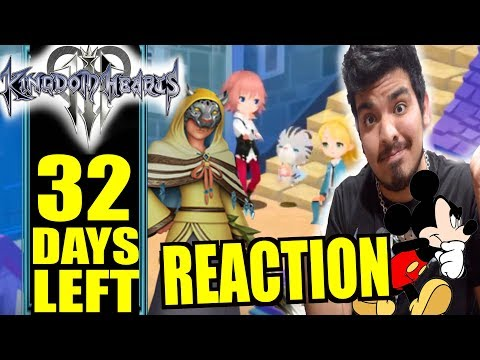 KH3 Countdown: KHUX Person of Interest Reaction & Thoughts