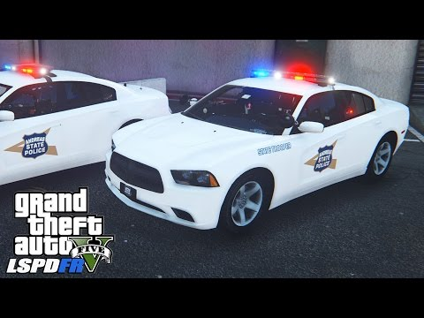 GTAV LSPDFR Indiana State Police Patrol - EP.156