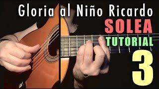 Pulgar Exercise - 34 - Gloria al Niño Ricardo (Solea) by Paco de Lucia