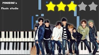 Btob 비투비  - Only One For Me 너 없인 안 된다  《minibini Easy Piano ♪》 ★★★☆☆