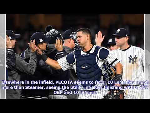 PECOTA projects Yankees will win the AL East