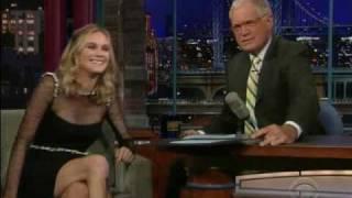 Diane Kruger - Letterman