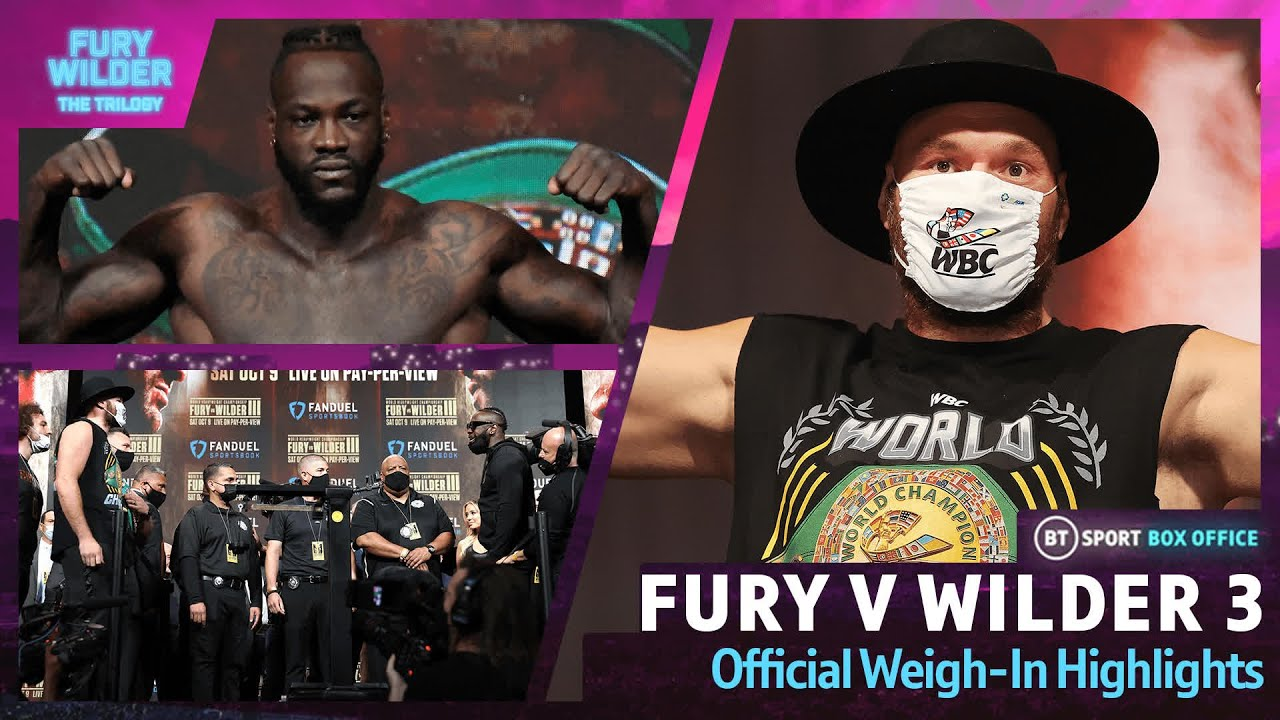 Download Tyson Fury vs Deontay Wilder 3 | Weigh-In Highlights