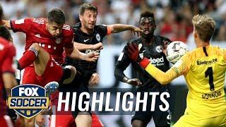 Robert Lewandowski heads back-to-back goals for Bayern Munich   2018 DFL-Supercup Highlights