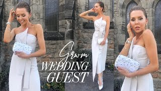 GRWM : Wedding Guest Makeup, Hair & Outfit