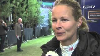 Longines FEI World Cup™ Jumping 2013/14 Helsinki - Malin Baryard-Johnsson
