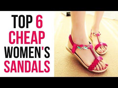 top-6-cheap-women's-sandals-2019