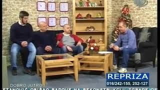 """Gostovanje VK """"Leskovac"""" na Televiziji Leskovac"""