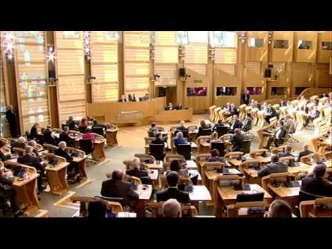 Members' Business - Scottish Parliament: 9th June 2015