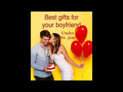 Best Gifts For Your Boyfriend 10 Gift Ideas For Any Man Under Rs 500 Amazon India Youtube