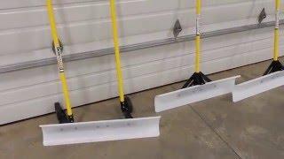&quotTHE SNOWPLOW&quot Snow Shovel 48 inch &amp 36 inch overview comparison