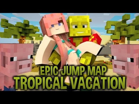 Aloha!   Epic Jump Map : Tropical Vacation   Ep. 1