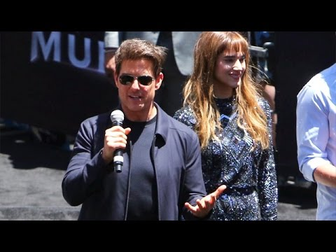 Tom Cruise Premieres New Action Flick The Mummy In Hollywood