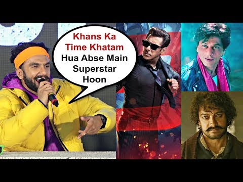 Ranveer Singh Insulting Reaction On Salman Khan, Shahrukh Khan, Aamir Khan Movies Flopped In 2018 Mp3