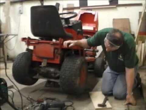 Ride On Mower Broke It S Gearbox Youtube