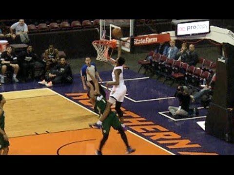 Derrick Jones INSANE Alley-Oop Poster Dunk In NBA D-League! | 12 03 16