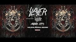 Slayer, Lamb Of God, Anthrax, Obituary 8.12.18 Helsinki. Finland. video: Alex Kornyshev