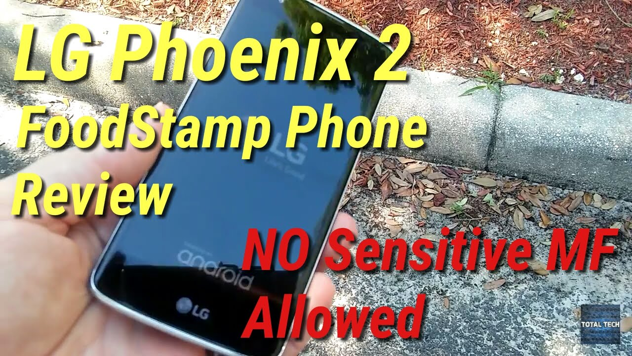 Lg Phoenix 2 Food Stamp Phone No Bs Review Youtube