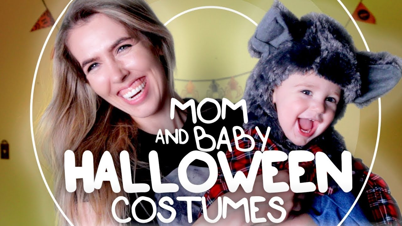 Mother And Baby Halloween Costumes.Mom And Baby Halloween Costumes Youtube