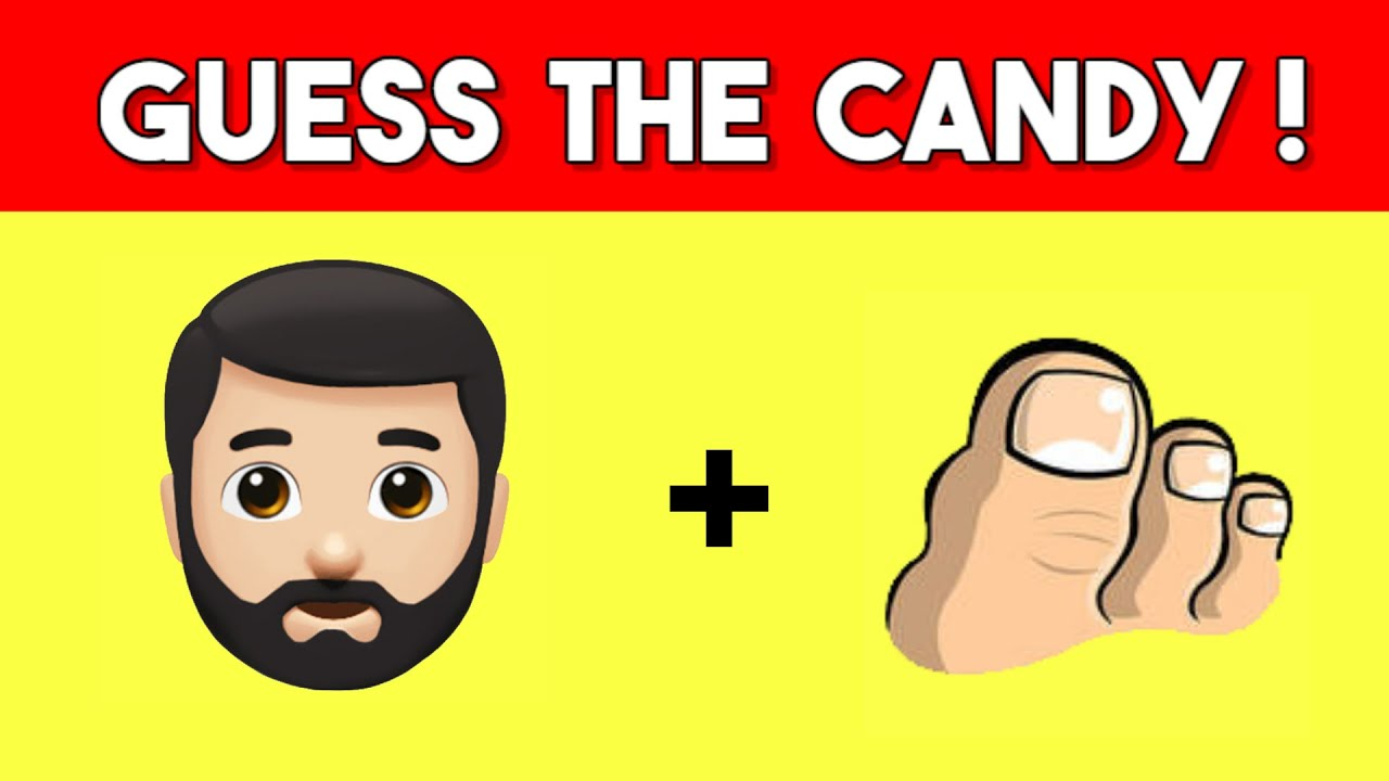 Can You Guess The Candy / Chocolate From Emojis? | Emoji Fun Guessing Game