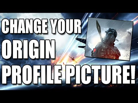 How To Change Your Origin Avatar / Profile Image Tutorial!