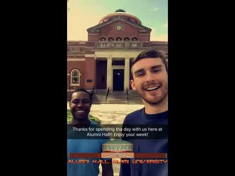 Miami University Snapchat Takeover Architecture And Interior Design