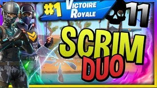 13 Years Old - Fortnite Top 1 Scrim Duo Atlantis w/Alexbeetle vs Pro Players (G4B Pickiss...)