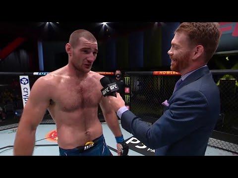Sean Strickland Octagon Interview | UFC Vegas 33