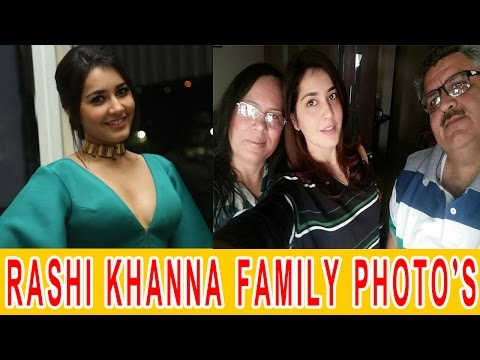 Rashi Khanna Family Photos